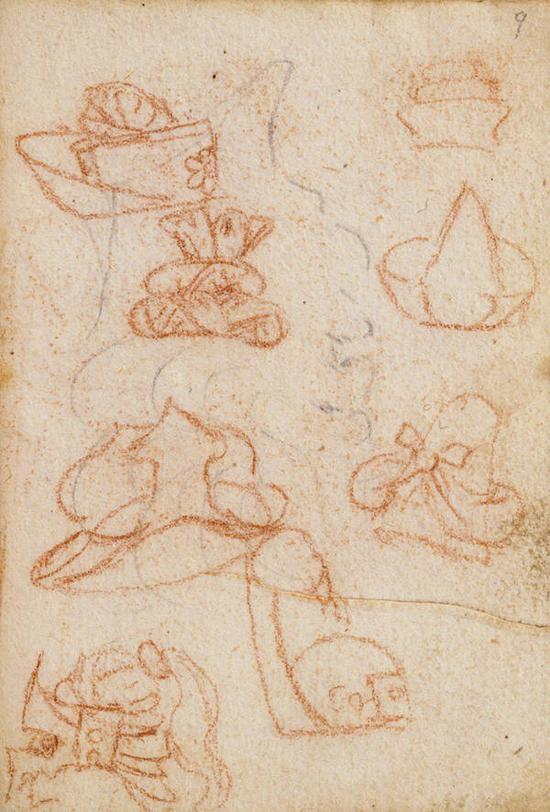达芬奇逝世五百年 英国博物馆将字化展示馆藏手稿