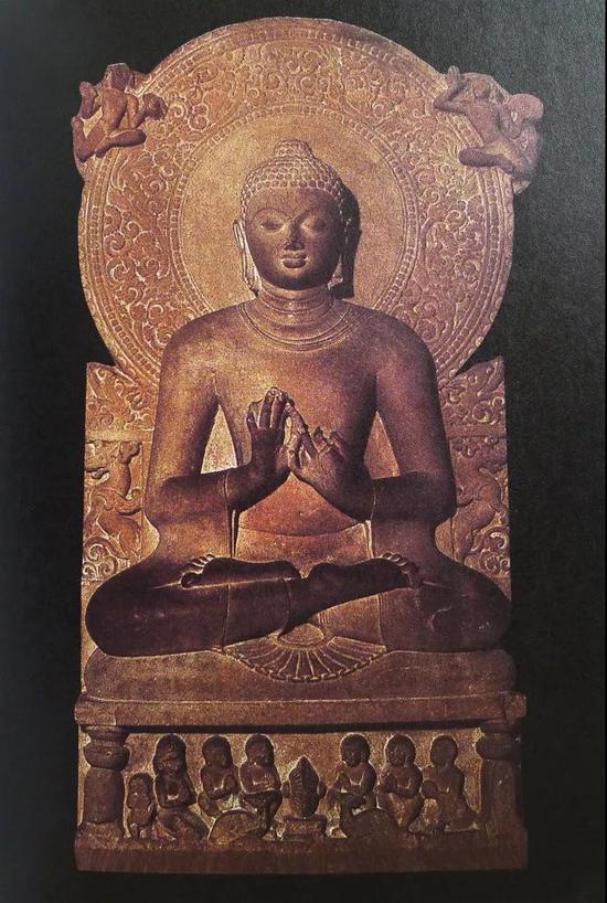 笈多王朝萨尔纳特式佛像,公元5世纪,萨尔纳特美术馆藏