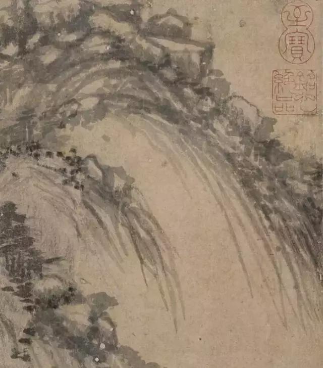 元 / 黄公望 /《富春山居图》局部