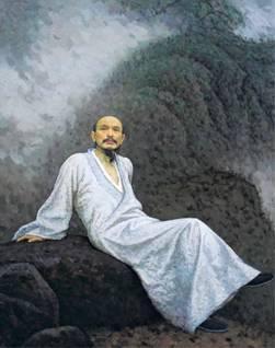 靳尚谊 《画僧髡残》