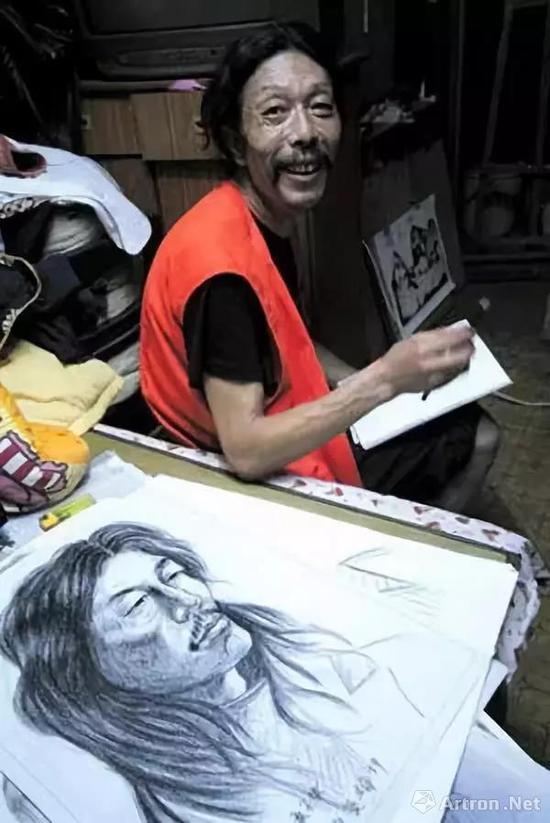 后来,田庆华的两幅画