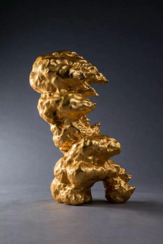 李真 万丈金乌千葵之一 51.5x40.5x74cm 铜雕 2018