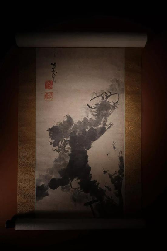 北京荣宝2018秋拍拍品 八大山人《墨荷图》