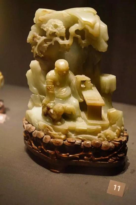 岩间罗汉 明末或清,17-18世纪