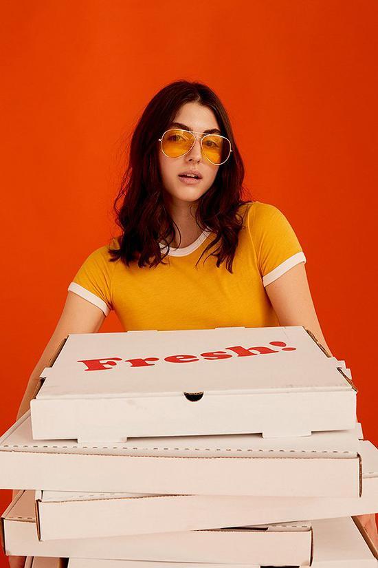 """""""披萨博物馆""""的一张宣传照。图片来源:Kate Owen/ The Guardian"""