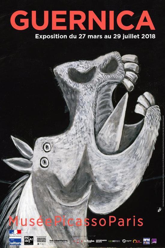 """巴黎毕加索博物馆目前的特展""""Guernica"""""""