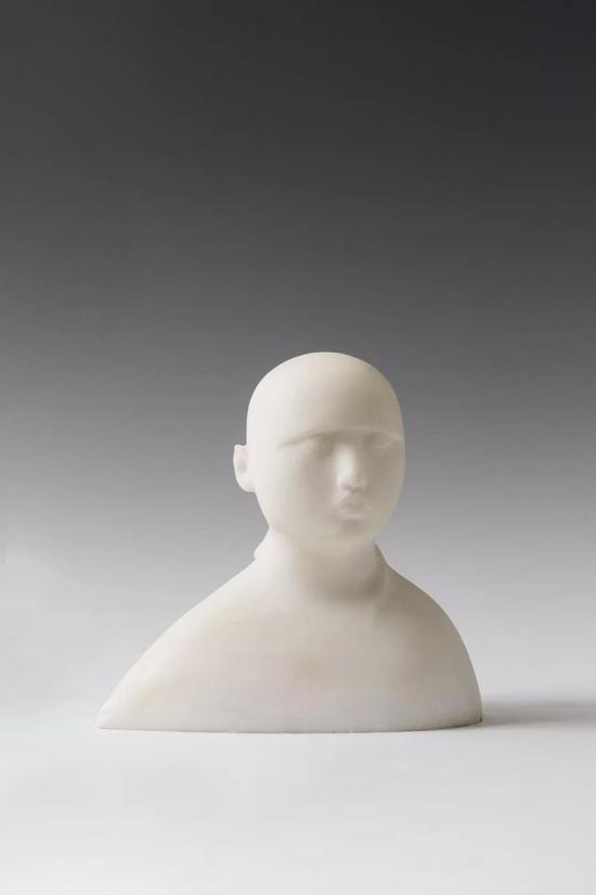 《女孩儿—4》27x27x18cm青铜2016年