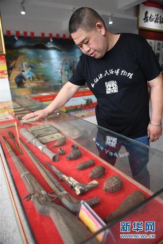 红色文物收藏家:让文物讲述长征故事