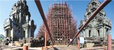 中国工作队参与吴哥古迹保护国际行动26年