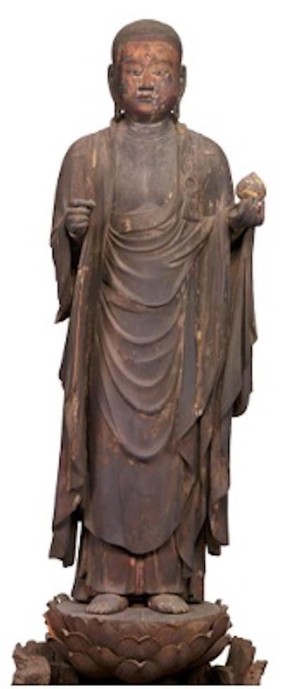地藏菩萨立像