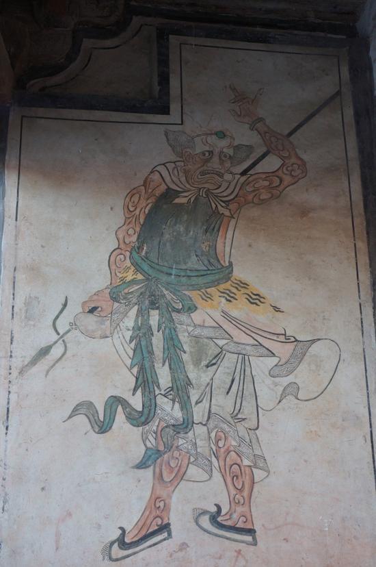 镇国寺墙绘