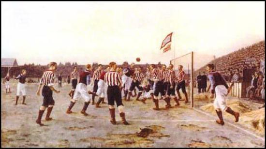 托马斯·M·M·赫米 《桑德兰对阵阿斯顿维拉》(1895)