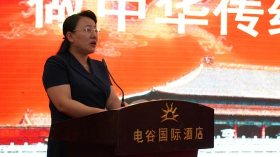 保定市副市长杨伟坤同志致欢迎辞