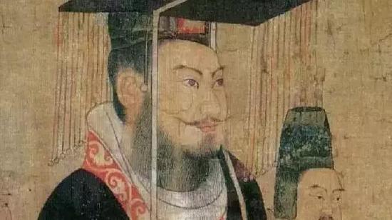 《历代帝王图》局部