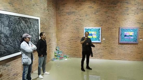 本次展览学术主持,四川美术学院视觉艺术中心当代艺术研究所副所长王建玉致辞