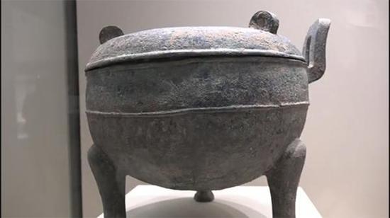 """""""臭鼎"""",现为山西省博物院馆藏。"""
