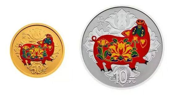 三等奖(5名):2019猪年生肖30克彩银币一枚