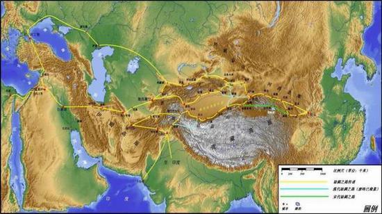 伊朗高原地形