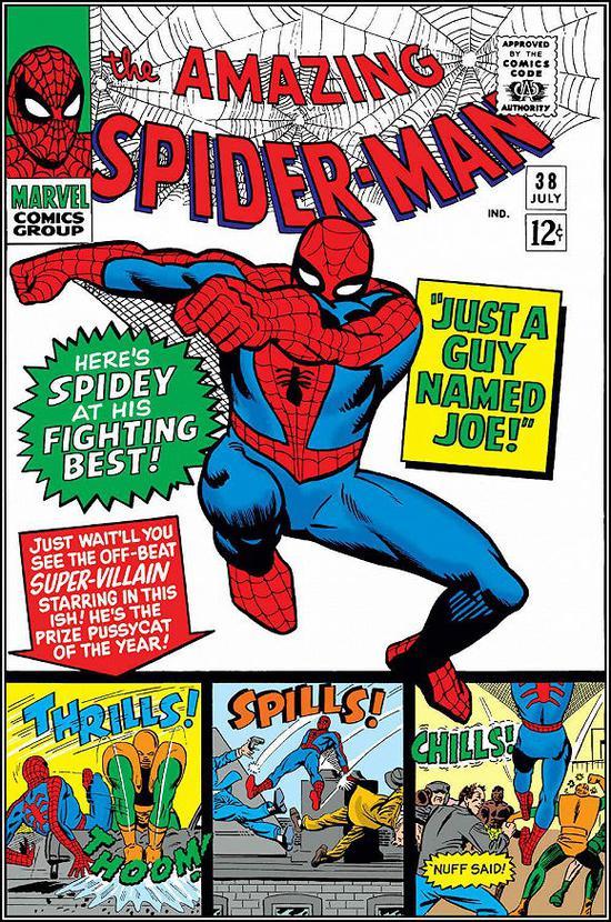 《神奇的蜘蛛侠》第38期