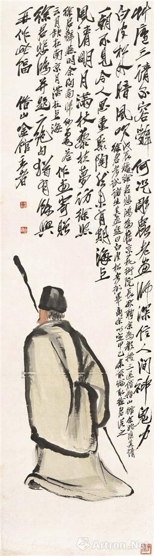 齐白石《寻旧图》,北京画院藏