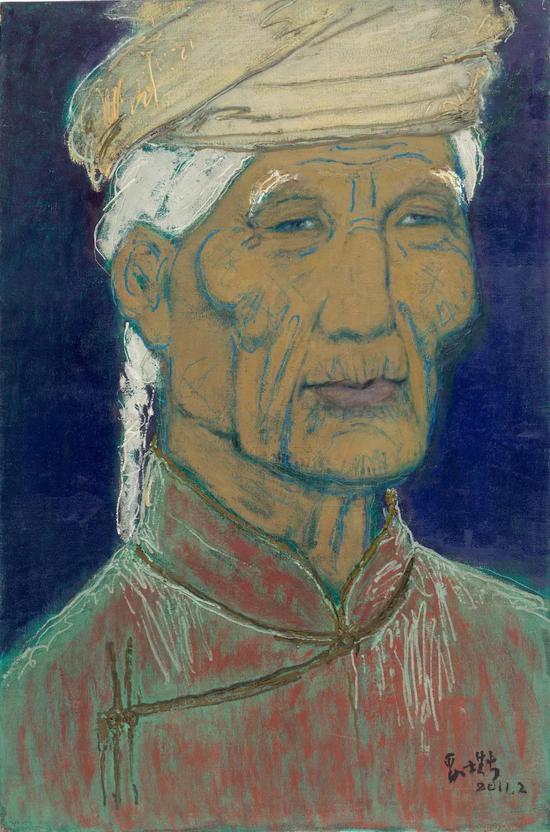 妥木斯《吉茹玛》布面油画 100×150cm 2011年