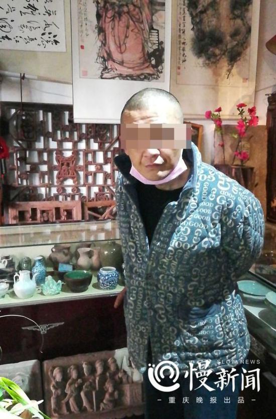 犯罪嫌疑人刘某 图片由通讯员提供