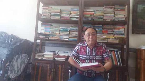律师刘洋。(本人供图)