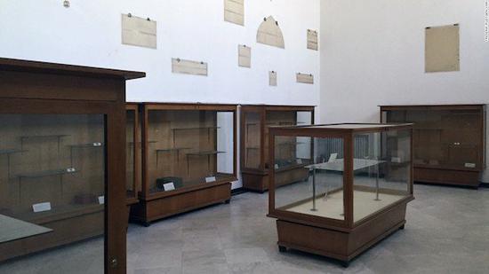 博物馆曾经被整个搬空