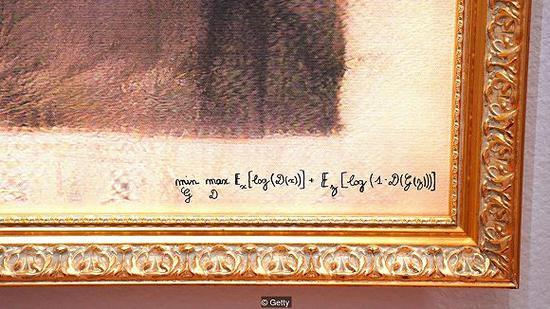 """""""Obvious""""用创作画作的算法签了名 图片来源:Getty"""