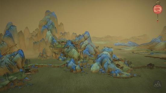 游戏中的《千里江山图》 可使用AR观看