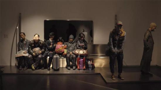 """2009年""""曾竹韶奖""""获奖作品《G4472新世界》 柳青 中央美术学院"""