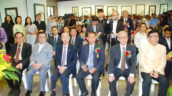 玉花寿之王博士在泰国文化部隆重举行