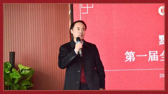 执行董事黄鸿雁作会议总结