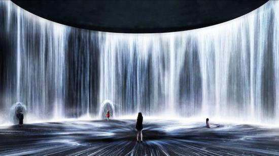 油罐艺术中心即将开幕的新展,油罐中的水粒子世界