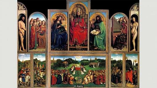 扬·范·艾克的著名祭坛画作