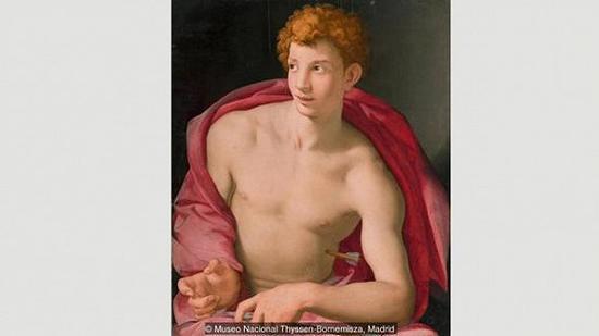 阿纽洛·布龙齐诺(Agnolo Bronzino),《圣塞巴斯蒂安》,约绘制于1533年