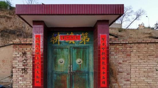 孙连成的家,连成馆。新京报记者 王巍 摄