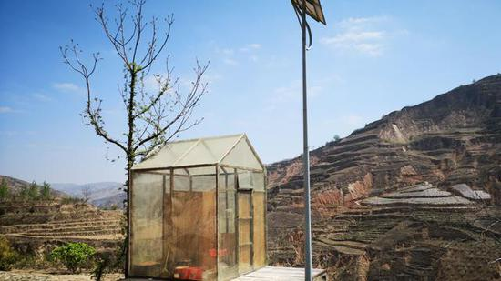 环保旱厕。新京报记者 王巍 摄