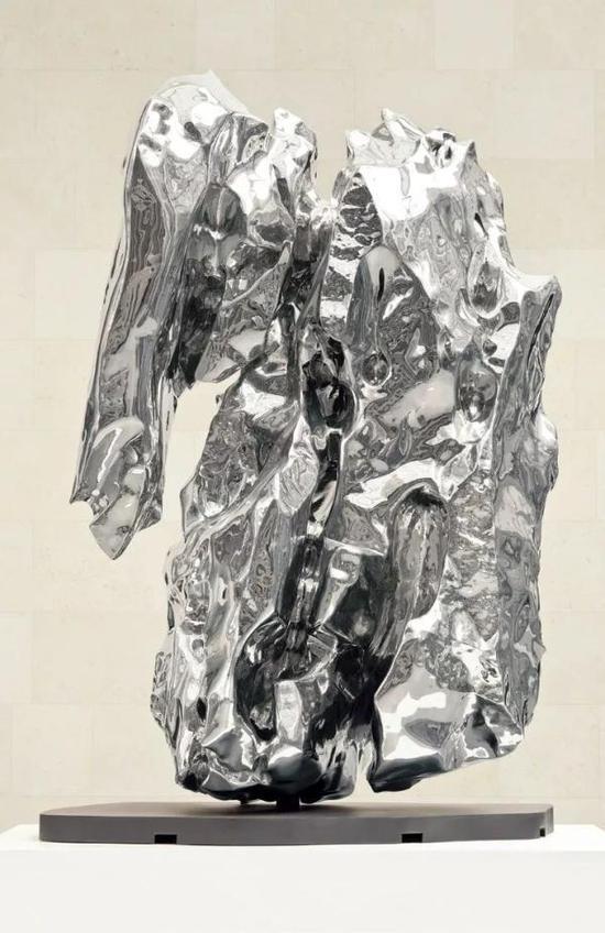 中空不锈钢雕塑《假山石》