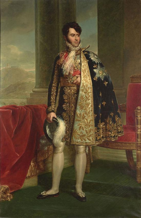 《Camillo Borghese 肖像》,Fran?ois Gérard,1810年