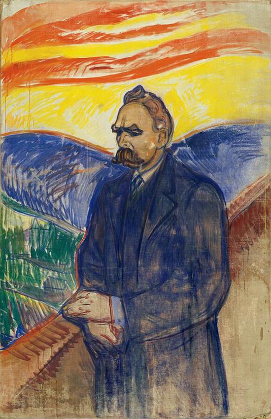 弗雷德里奇·尼采 1906年 油彩·蛋彩、油画
