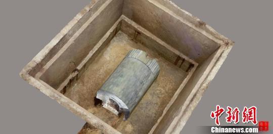 一号墓 西安市文物保护考古研究院供图
