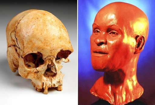 美洲发现的最古老的一件古人类化石可能得以幸存(图片来自英国《卫报》网站)