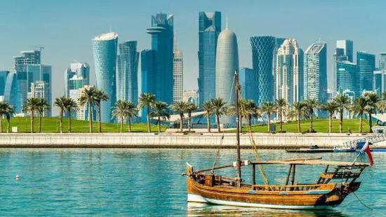 位于阿拉伯半岛的卡塔尔,