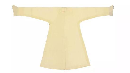 ▌清 18世纪 黄纱团龙纹常服