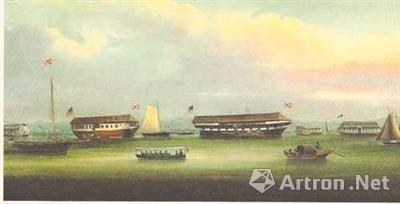 珠江上的红砒私运船