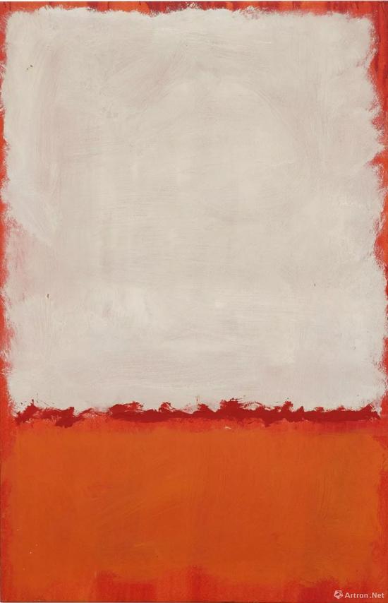 马克・罗斯科(Mark Rothko)《无题》布面油画 99.1x64.8cm 1969年成交价:1885.65万美元