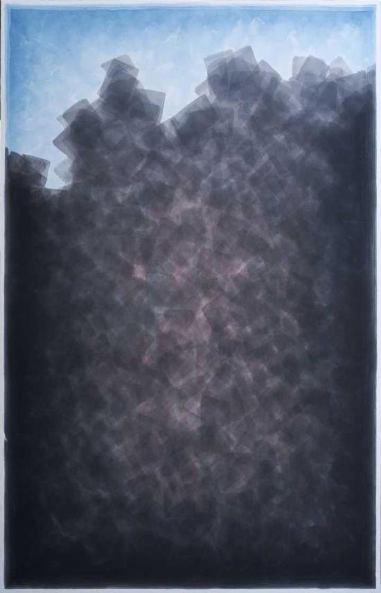 大山水190x122cm 纸本水墨 2018