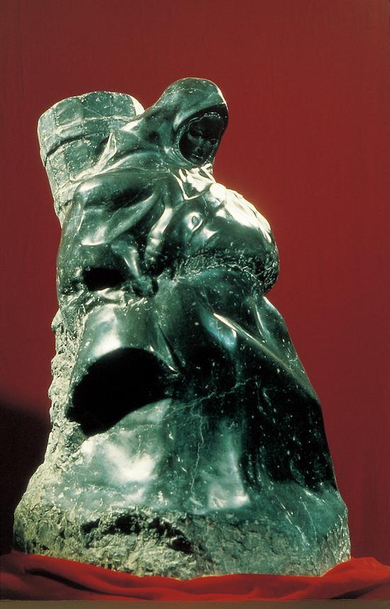 卢琪辉,《高原晨曦》,铜,1985年