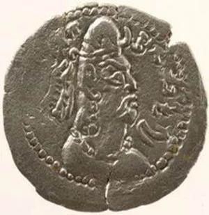 嚈噠錢幣的國王扁頭